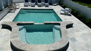 Concrete Residential Pool #050 by PM Pool And Spas