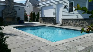 Concrete Residential Pool #053 by PM Pool And Spas