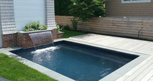 Concrete Residential Pool #055 by PM Pool And Spas