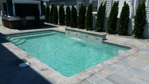 Concrete Residential Pool #057 by PM Pool And Spas