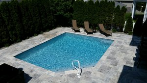 Concrete Residential Pool #061 by PM Pool And Spas
