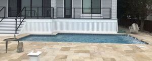 Concrete Residential Pool #070 by PM Pool And Spas