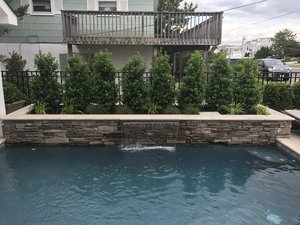 Concrete Residential Pool #072 by PM Pool And Spas