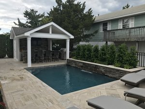 Concrete Residential Pool #073 by PM Pool And Spas