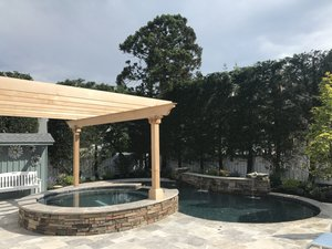 Concrete Residential Pool #074 by PM Pool And Spas