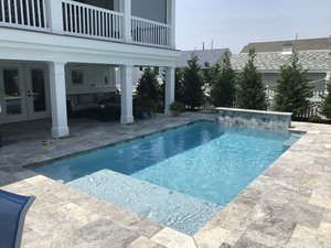 Concrete Residential Pool #080 by PM Pool And Spas