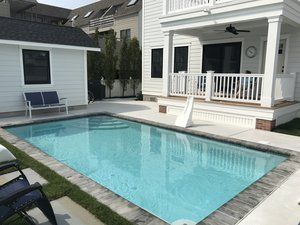 Concrete Residential Pool #084 by PM Pool And Spas