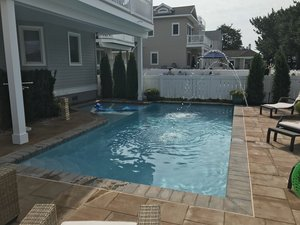 Concrete Residential Pool #085 by PM Pool And Spas