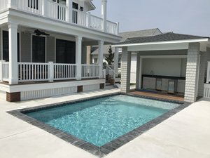 Concrete Residential Pool #087 by PM Pool And Spas