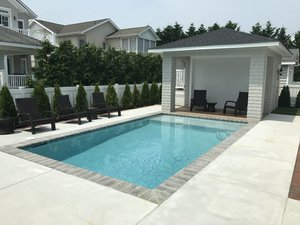 Concrete Residential Pool #088 by PM Pool And Spas