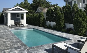 Concrete Residential Pool #089 by PM Pool And Spas