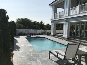 Concrete Residential Pool #090 by PM Pool And Spas